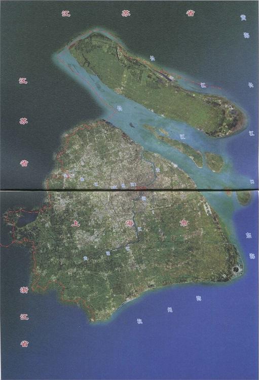 上海卫星地图高清地图 大图