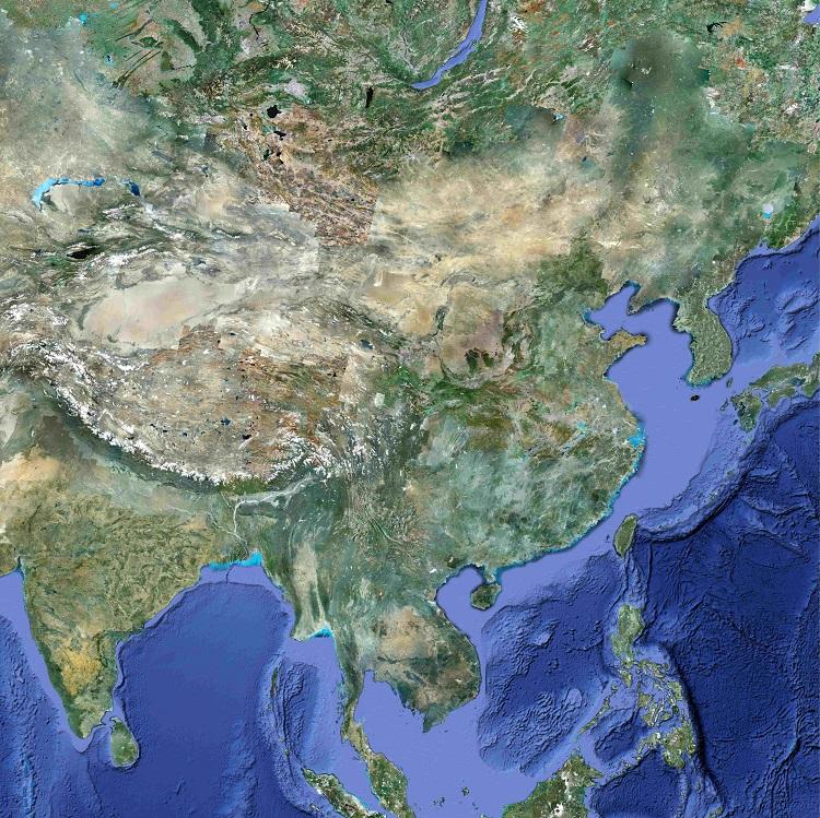 中国卫星地图高清地图