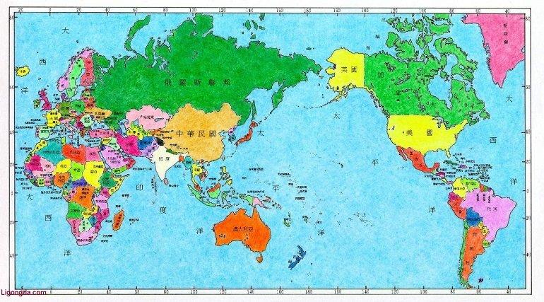 世界全图超高清晰版 大图