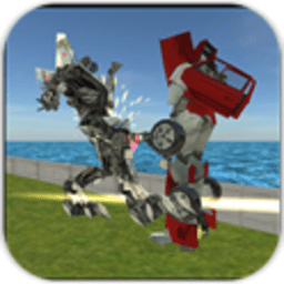 战机变形机器人2无敌版v1.1  安卓版