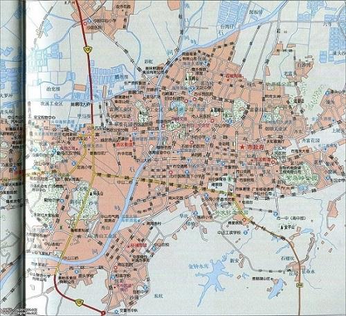 中山地图高清版 可缩放版