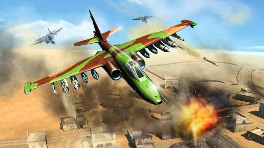 战斗机飞行模拟器手游