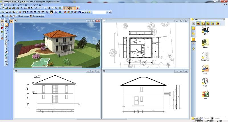 ashampoo home designer汉化版 v4.1.0 最新版