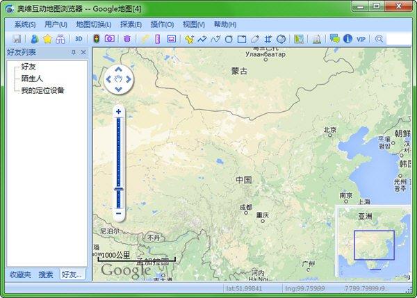奥维互动地图绿色版