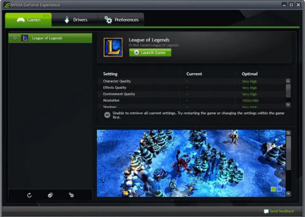 NVIDIA GeForce Experience(显卡驱动更新软件) v3.20.2.34 官方版
