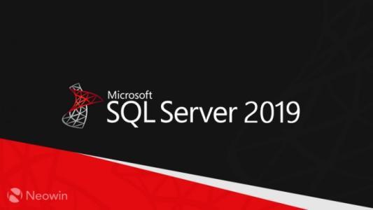 sql server2019版