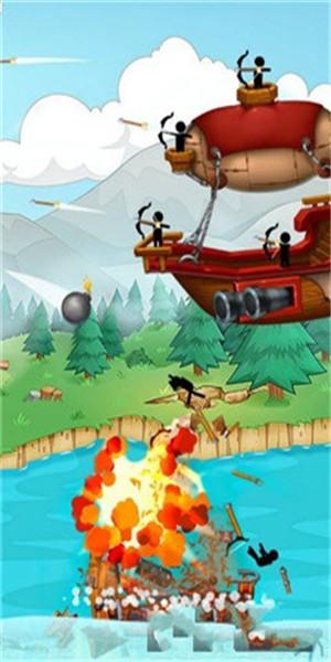 火柴人海盗战争无限金币版 v1.0.3 安卓版