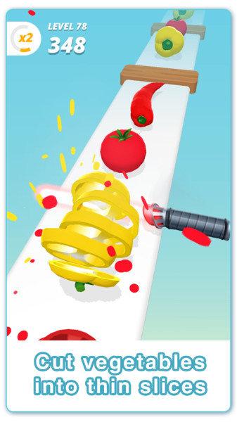 水果切切切游戏
