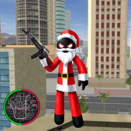 火柴人绳索英雄圣诞无限钻石版v1.0 安卓版
