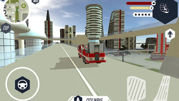 机器人消防车中文破解版 v1.0 安卓版