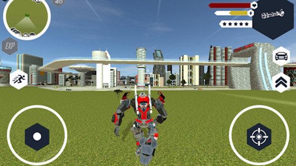 机器人消防车破解版