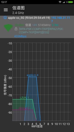 wifi分析�xpc版