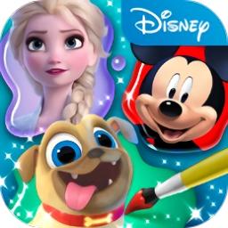 迪士尼魔法涂色手机版