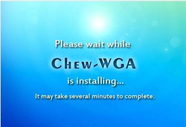 win7激活工具chew wga v0.9 绿色版
