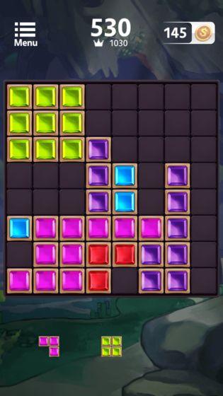 俄罗斯方块放置版游戏