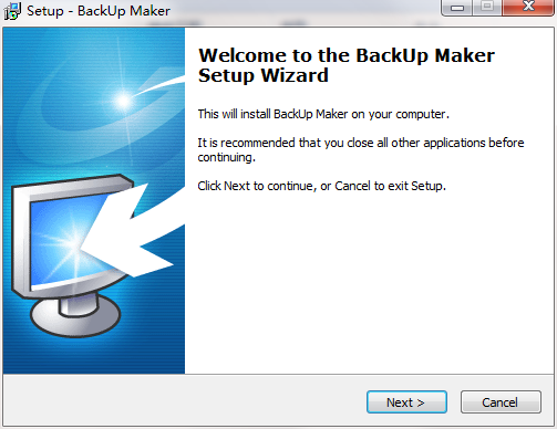 backup maker windows 10
