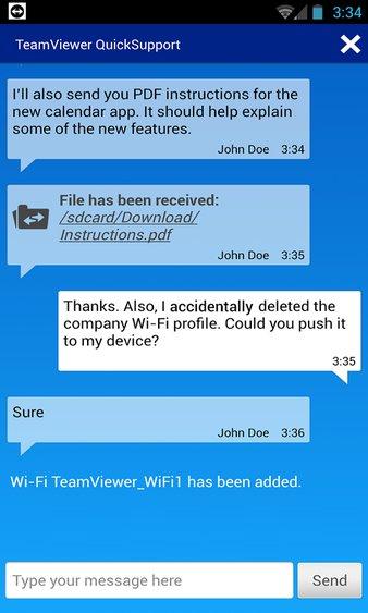 teamviewer quicksupport14手机版 v14.4.195 安卓版