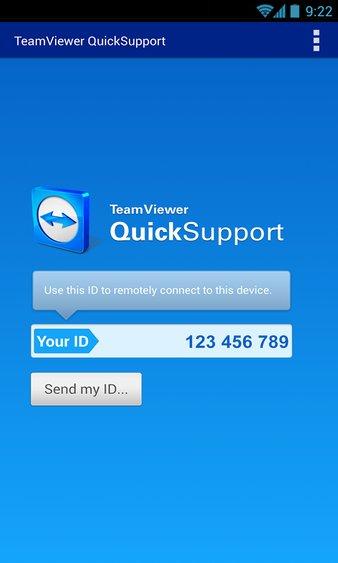 teamviewer quicksupport app