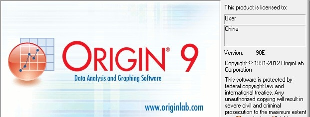 origin9.0中文版