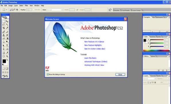 photoshop cs2注册软件 官方版