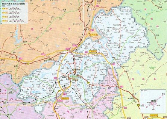 惠州地图高清版