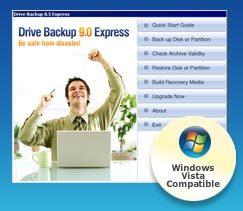 paragon drive backup express系统