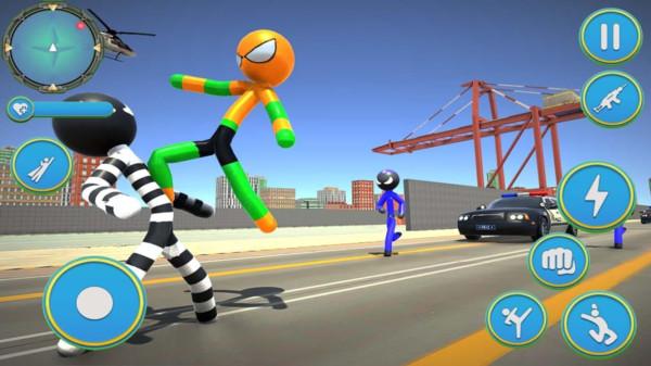 超级蜘蛛火柴人手机版 v1.0 安卓版
