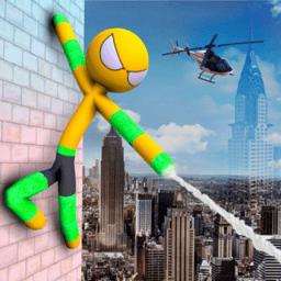 超级蜘蛛火柴人手机版