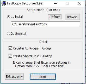 fastcopy pe版 v3.92 最新版