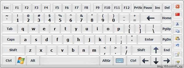 hot virtual keyboard键盘软件