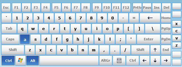 电脑虚拟键盘hot virtual keyboard v8.4.0.0 中文版