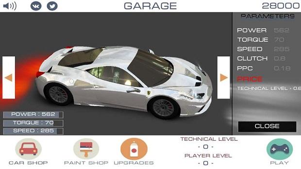 狂野飙车3d无限金币版 v1.01 安卓版