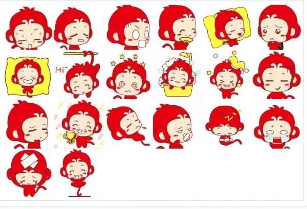 momoking猴子动态qq表情包 免费版