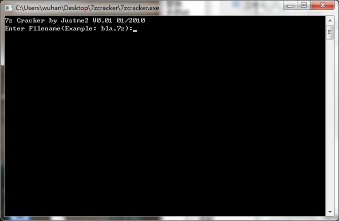 7zcracker�件 v2.0.1 官方版
