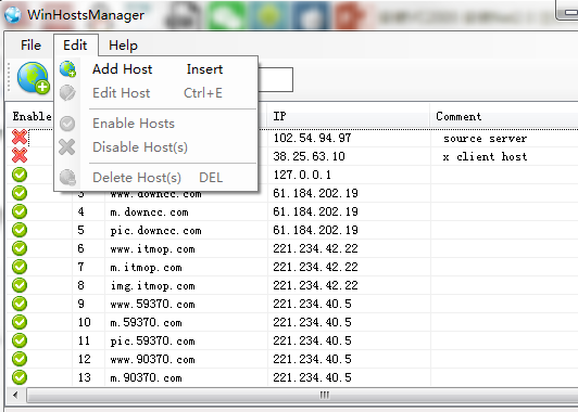 hosts manage软件