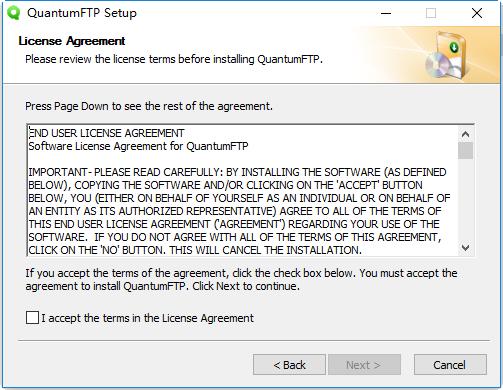 quantumftp电脑版 v1.66 最新版