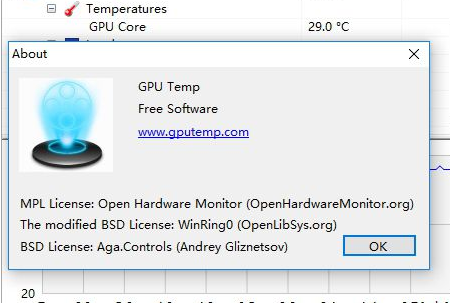 gpu temp显卡温度监控软件