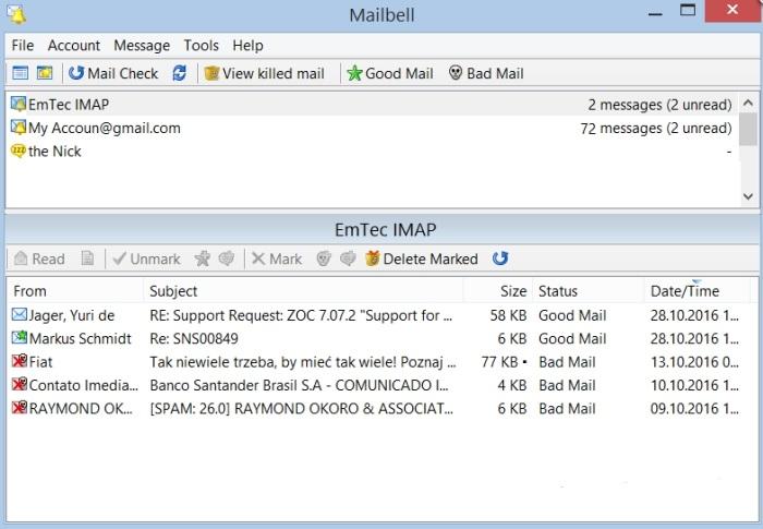 mailbell windows 10 v2.62 电脑版