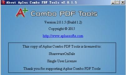 aplus combo pdf tools(pdf文件分割合并软件) v2.0.1.5 官方版