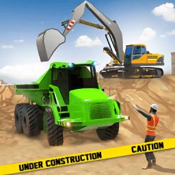 挖掘机建造模拟器游戏