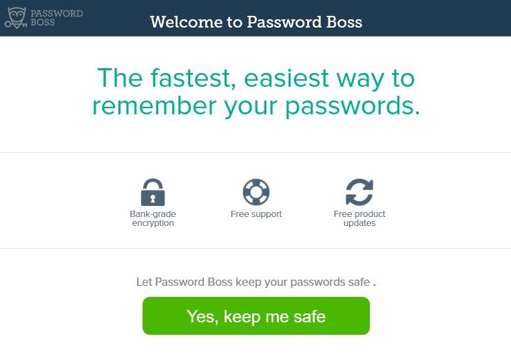 password boss密码管理器 v5.5.4657.0 最新版