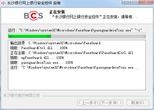 �L沙�y行�W上�y行安全控件 v1.0 官方版