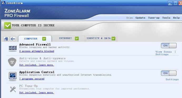 zonealarm pro firewall v16.0.159.17147 ��X版
