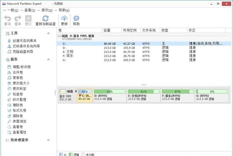 macrorit partition expert�挝募��h化版