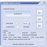 BitTorrent Turbo Accelerator 3.6.0.550 加速器