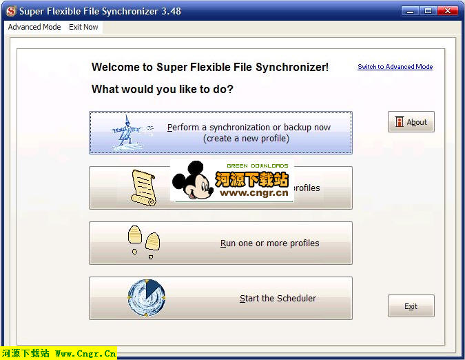 Super Flexible File Synchronizer v3.48 build 613_�G色版 文件同步�浞蒈�件/支持�h程ftp同步