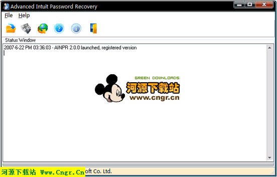 Advanced Intuit Password Recovery V2.0_英文绿色版 .QBA.QBW密码恢复工具