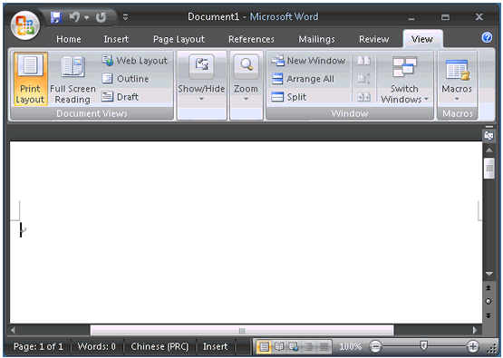 Microsoft Office 2007 SP1_中英文便携更新版 Word/Access/PowerPoin/Excel