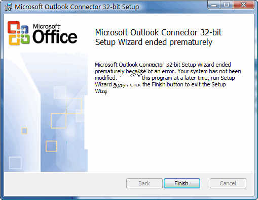 Outlook Connector For Office 2010_英文官方安装版 可组织电子邮件和联系人