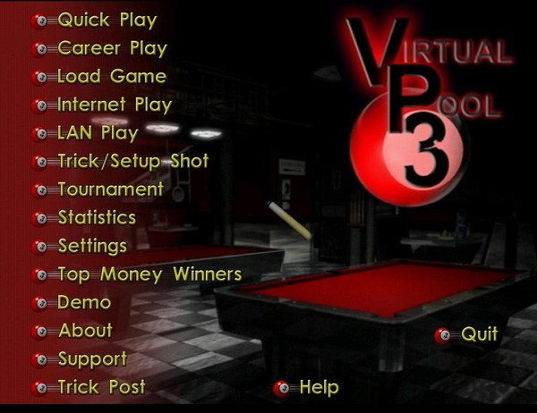 虚拟台球3(Virtual Pool 3 DL)3.3.1.1